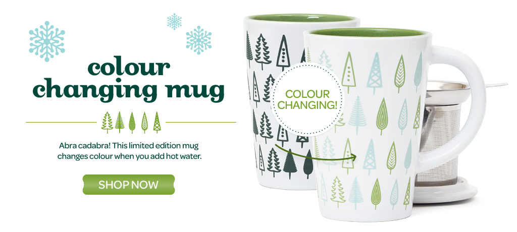 Heat-Sensitive Perfect Tea Mugs!