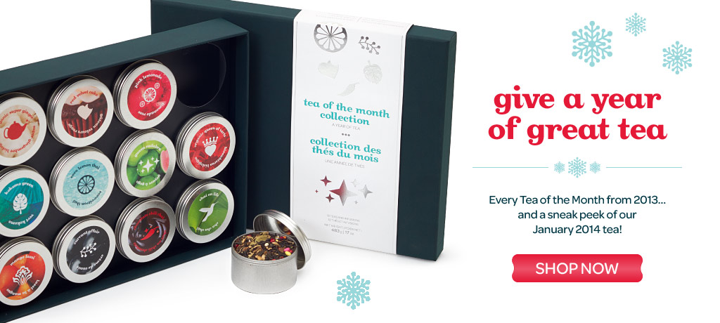 The Tea of the Month Collection is here!