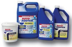 Roto Rooter Plumbing Drain Care Products