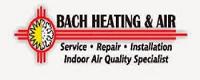 Website for Bach Heating & Air, LLC