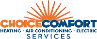 Website for Choice Comfort Services, Inc.