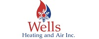 Website for Wells Heating and Air Conditioning, Inc.