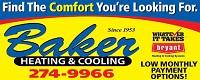 Website for Baker Heating & Cooling