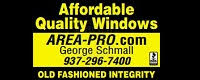 Website for Area-Pro, George Schmall