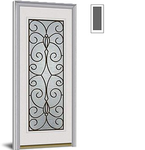 Special Order Exterior Doors Decorative Glass