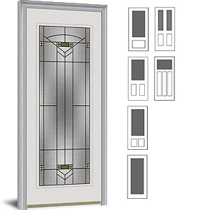 Special Order Exterior Doors Decorative Glass