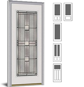 Special order exterior doors decorative glass for Special order doors