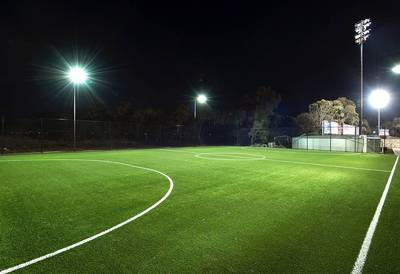 Melbourne Synthetic Turf Soccor Football Field Artificial Grass