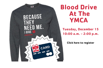 Blood Drive at the Y