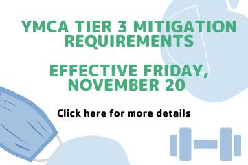 YMCA Tier 3 Mitigation Policies