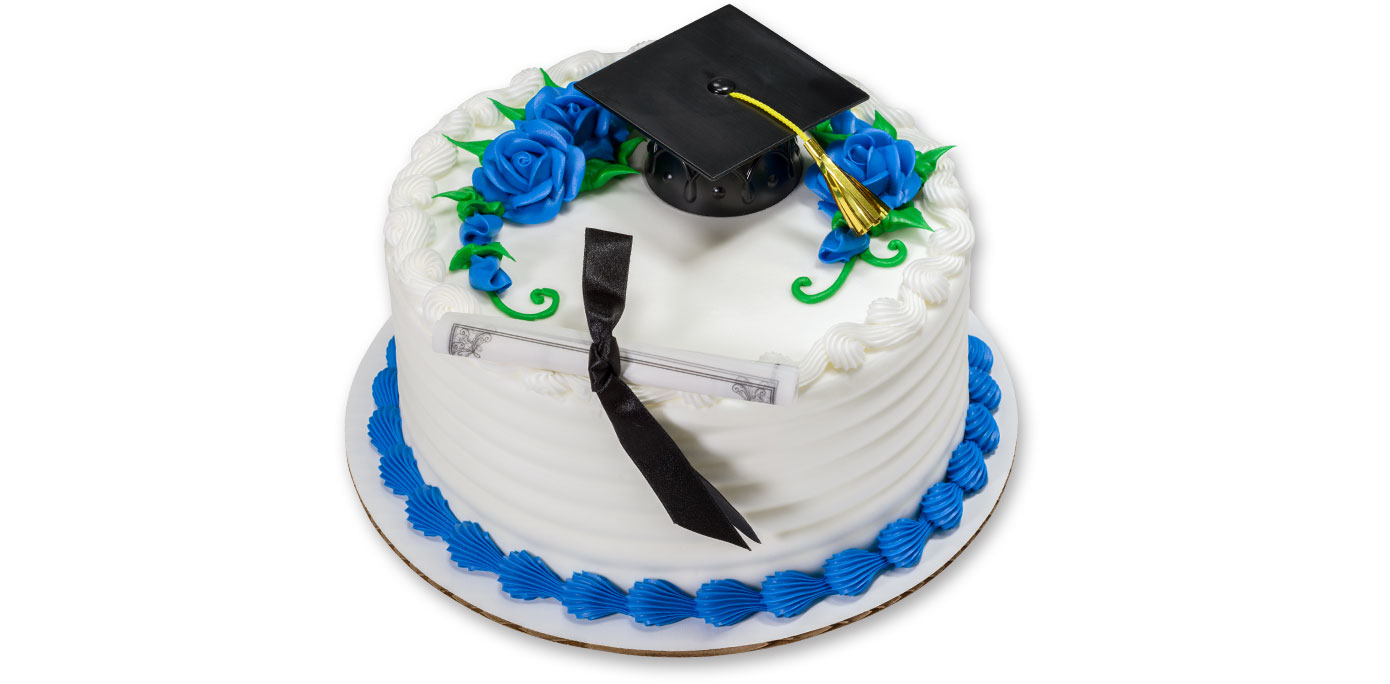 Round Graduation Cake Images : How-To Make a Classic Graduation Cake - Cakes.com