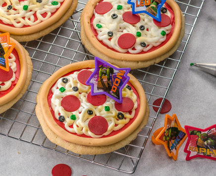 How-To Make Teenage Mutant Ninja Turtles Pizza Cookies