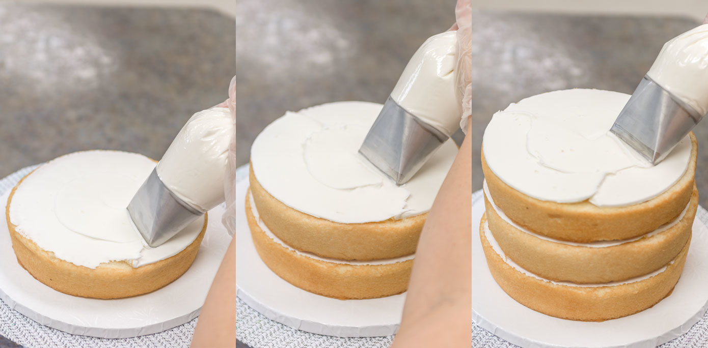 Cinderella Doll Cake stack cakes
