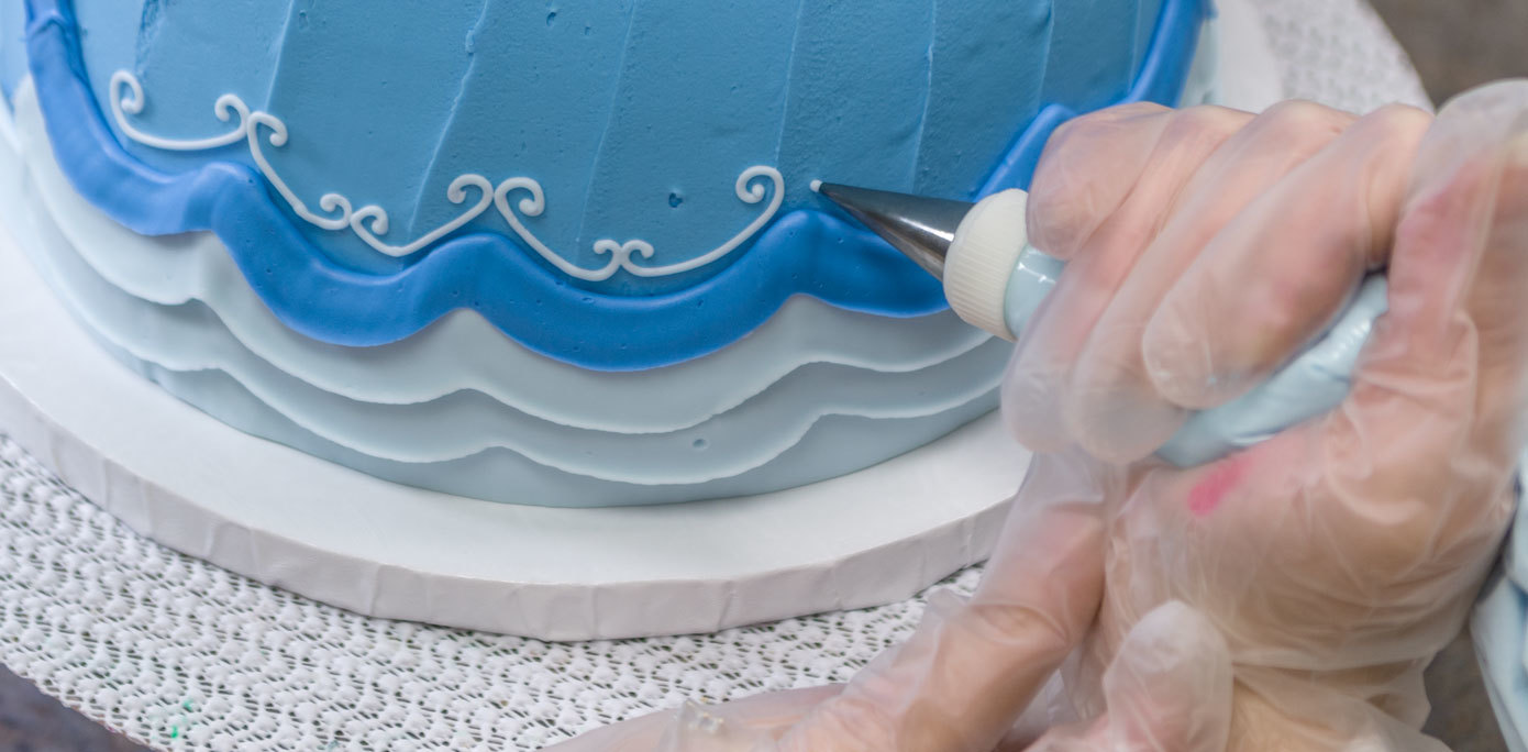 Cinderella Doll Cake small details