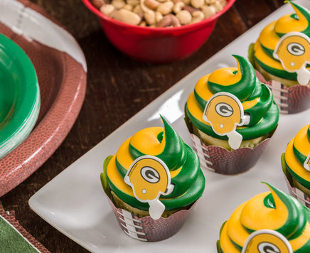 How-To Make NFL Team Cupcakes
