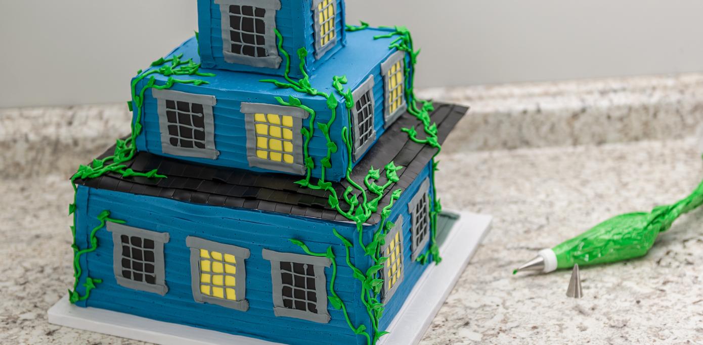 Haunted House Cake Vines