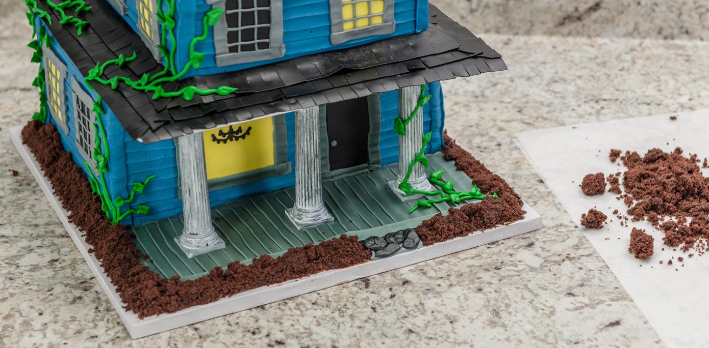 Haunted House Cake Dirt