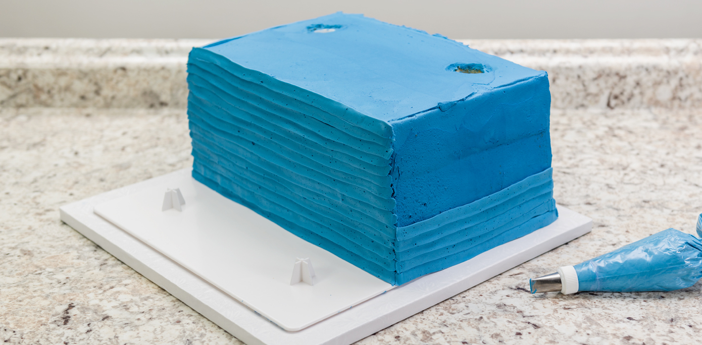 Haunted House Cake Siding
