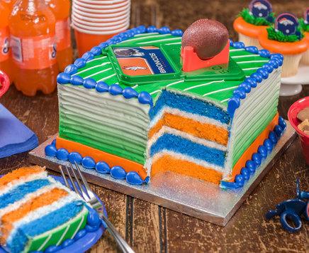 How-To Make Fan-Tastic NFL Surprise-Inside Cake