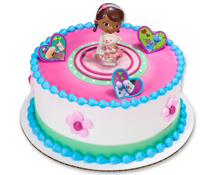 How-To Make a Doc McStuffins & Lambie Birthday Cake