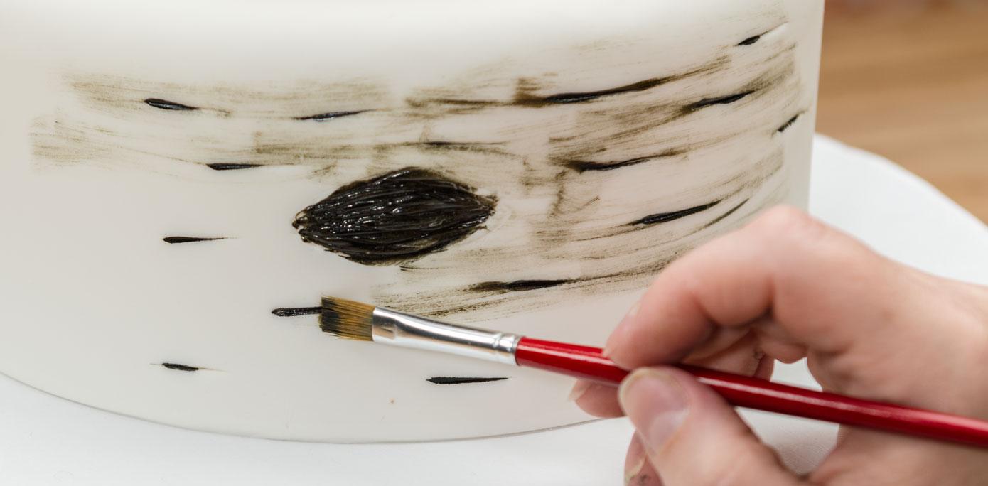 How To Make Tree Bark Cake
