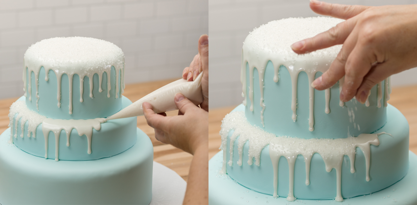 Making A Three Tiered Fondant Cake