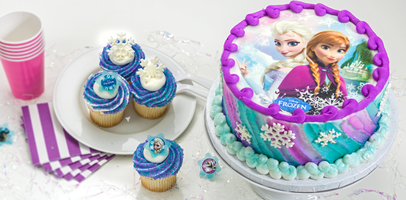How to make a frozen sisters cake using an edible cake for How to make edible cake decorations at home