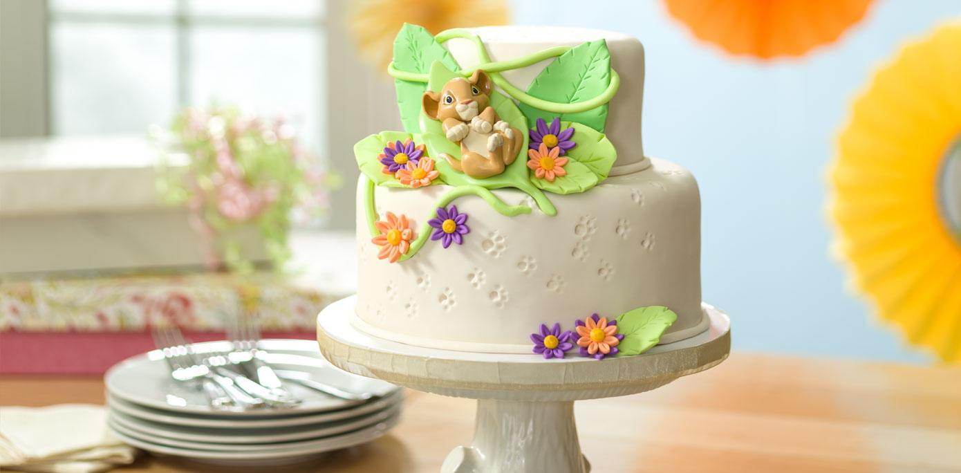 Decorating Ideas > HowTo Make A Lion King Baby Simba Fondant Baby Shower  ~ 134721_Lion King Cake Decoration Ideas
