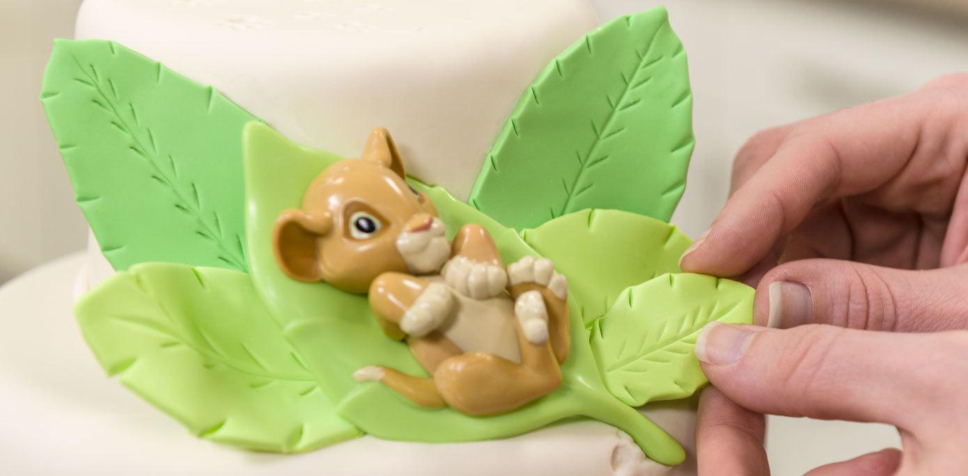 Lion King Baby Simba Cake Topper