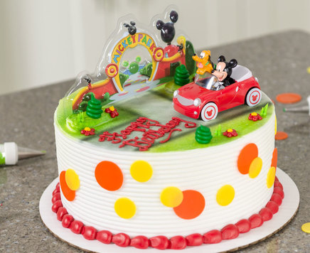How-To Make a Mickey Mouse Clubhouse Birthday Cake