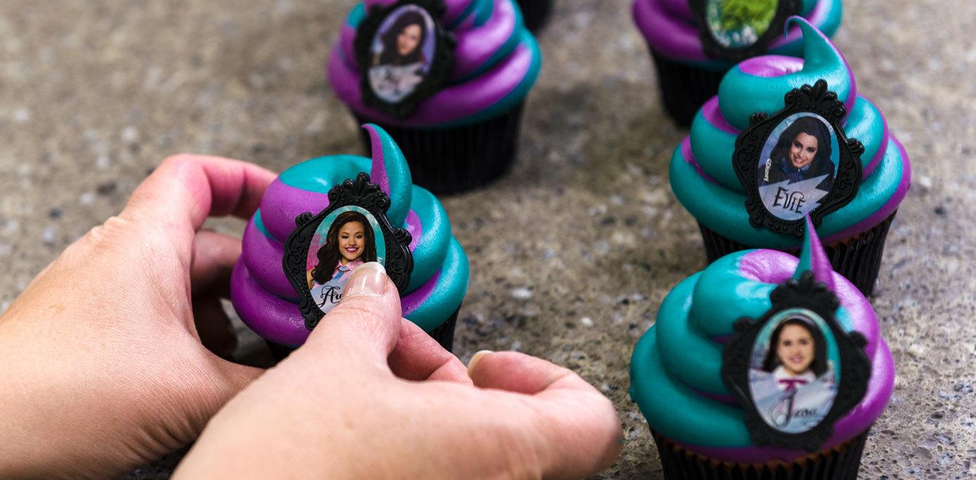 Descendants Cupcake Rings