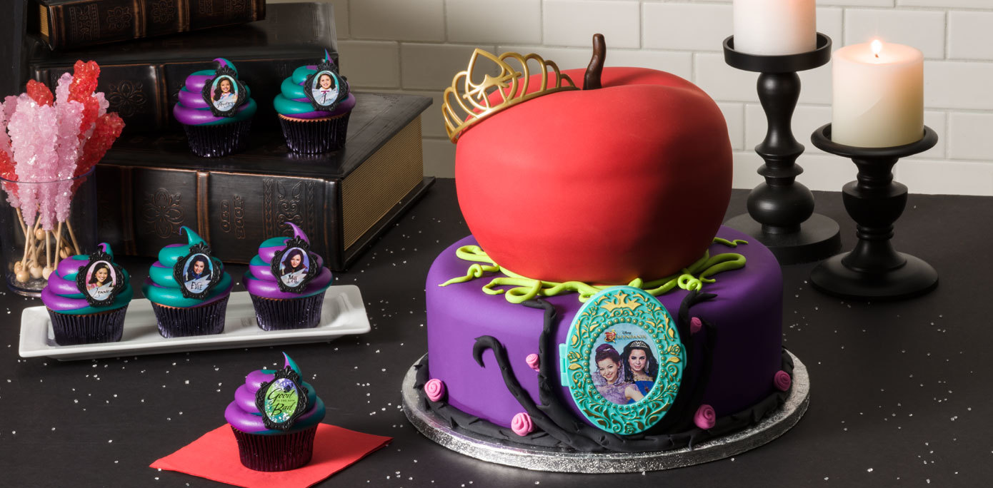 How To Make A Disney S Descendants Rotten To The Core Cake