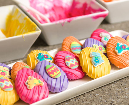 How-To Make Easter Egg Truffle Treats