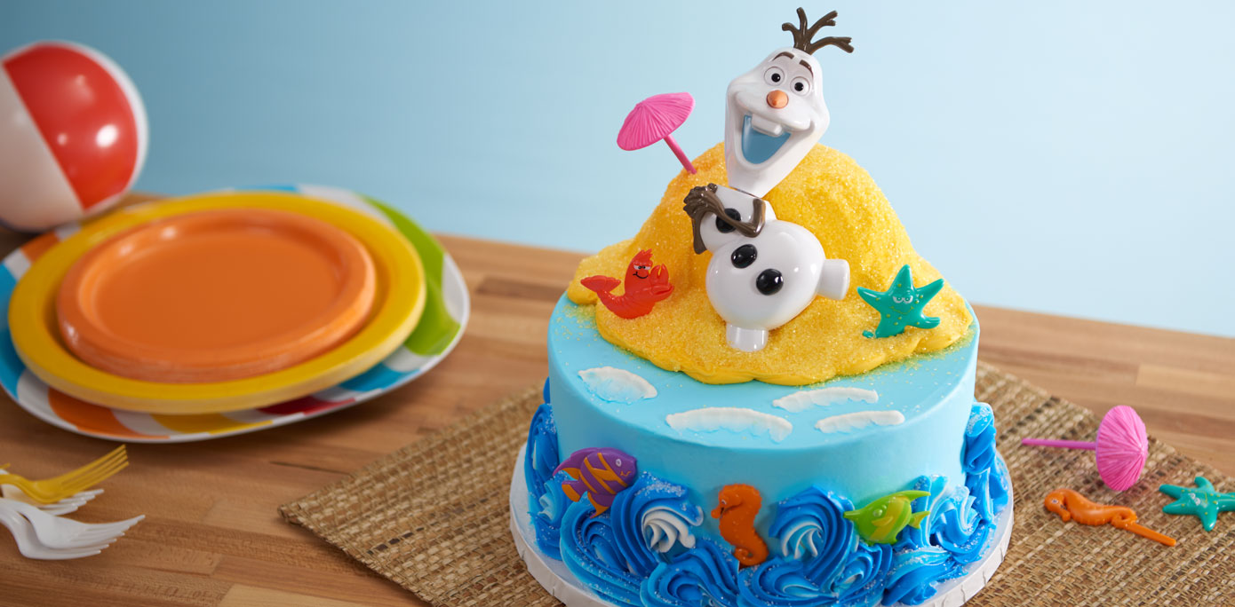 Cake Decorating Ideas Summer : How-To Make an Olaf