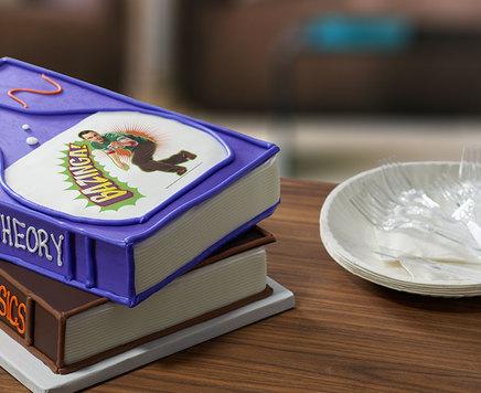 How-To Make a Big Bang Theory Bazinga Cake