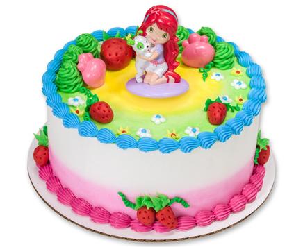How-To Make a Strawberry Shortcake Birthday Cake