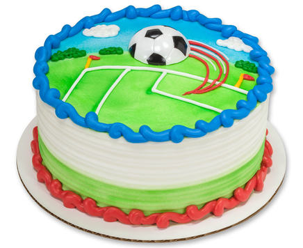 How-To Make an Extreme Action Soccer Cake
