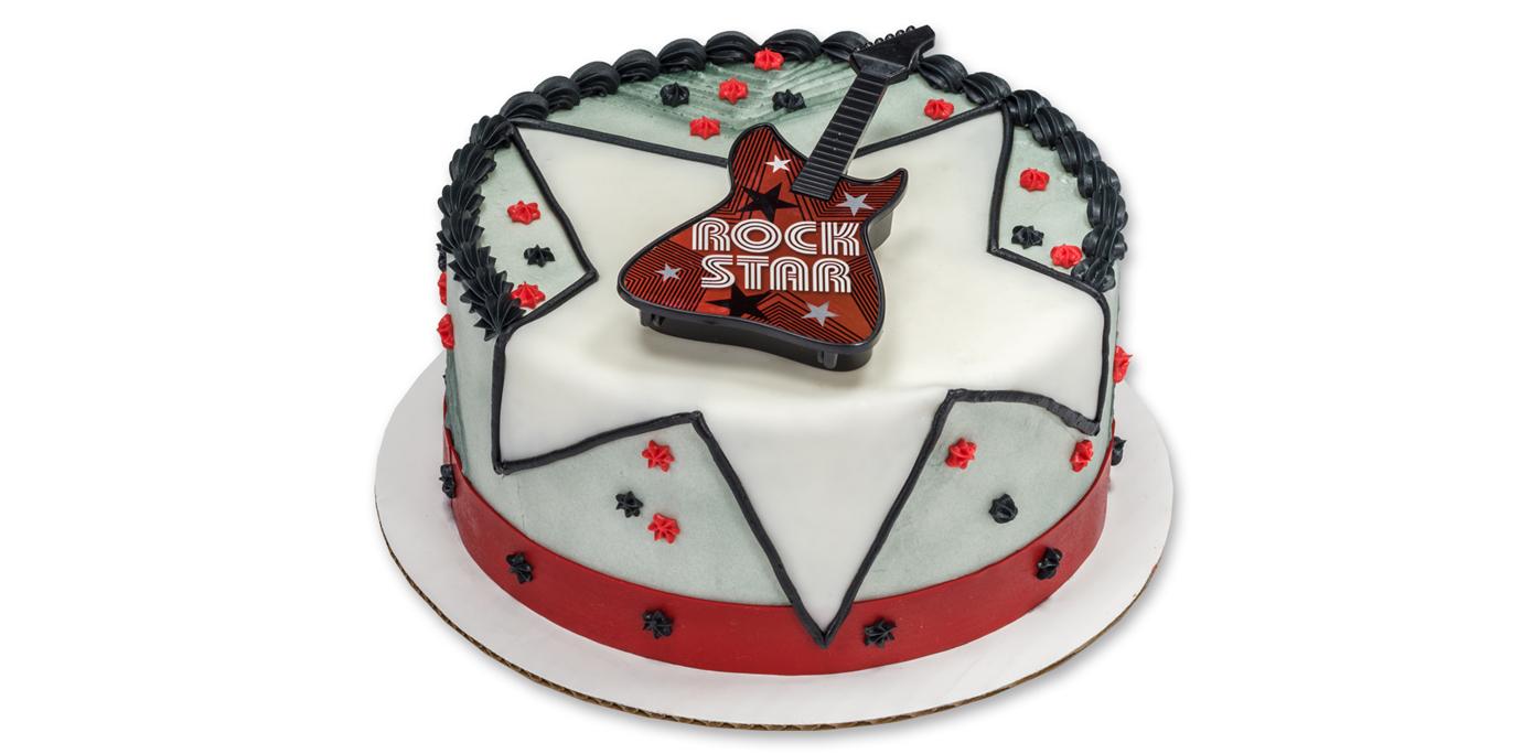 How-To Make a Rock Star Guitar Cake - Cakes.com