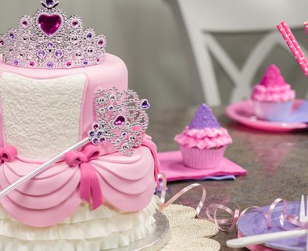 How-To Make a Two-Tier Princess Cake