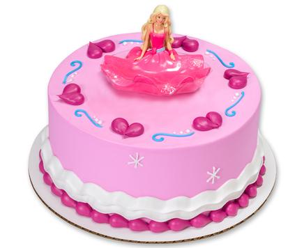 How-To Make a Charming Barbie Birthday Cake