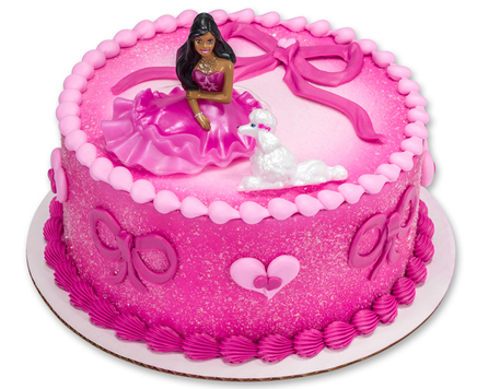 How-To Make a Pink Barbie Fashion Cake