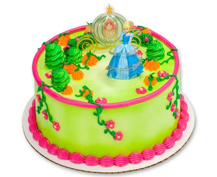 How-To Make a Disney Princess Cinderella Magic Cake