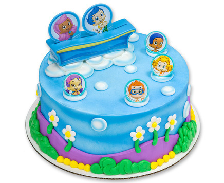 How-To Make A Bubble Guppies-Themed Cake