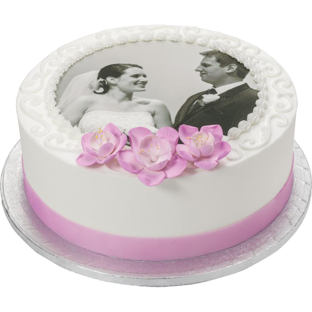 PhotoCake® Anniversary Stacked Round Cake