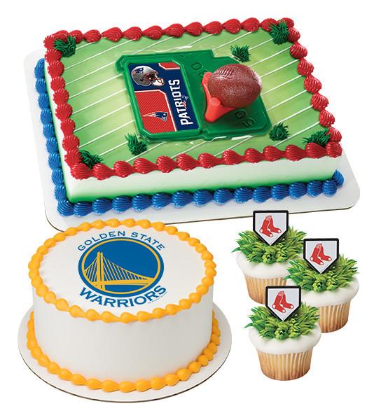 Professional Sports Team Cake Decorations