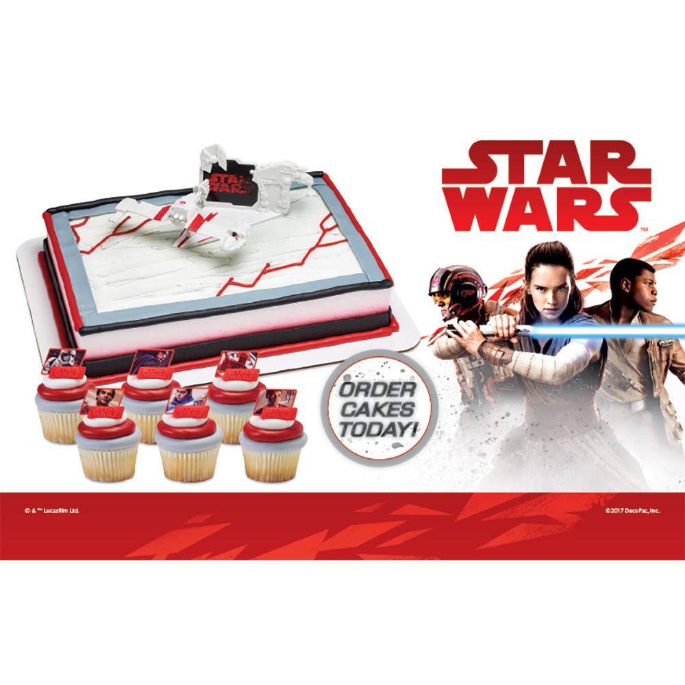 Star Wars Header Card 2017 Inspirations for Cake Decorations
