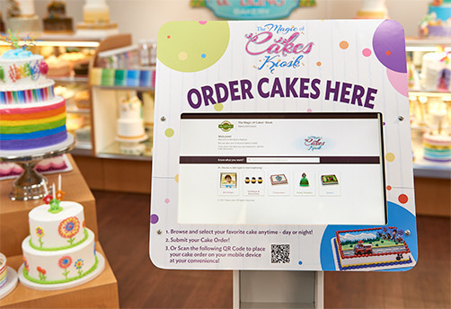 The Magic of Cakes Kiosk