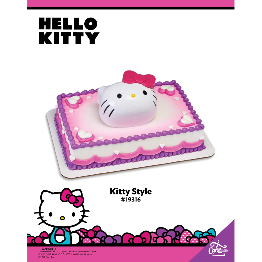 Hello Kitty Kitty Style The Magic of Cakes® Page