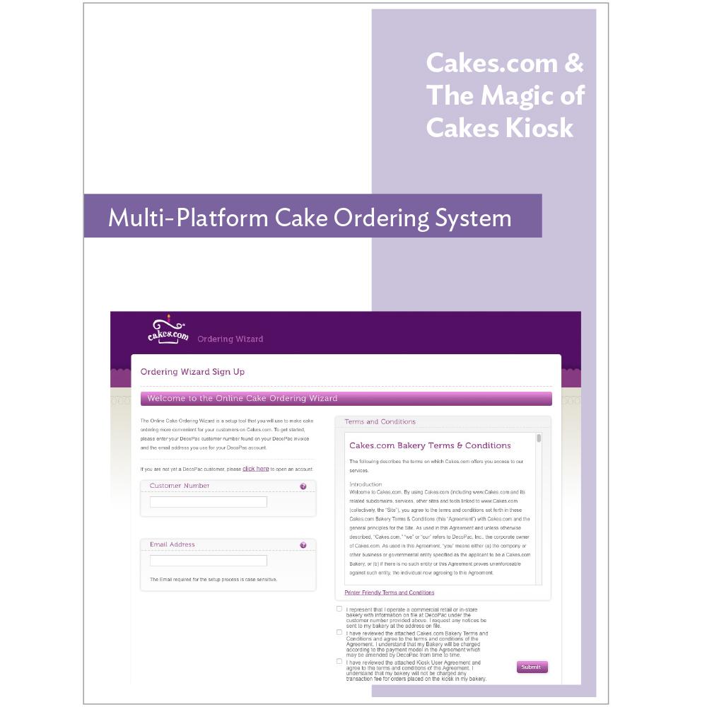 Set Up Online Cake Ordering