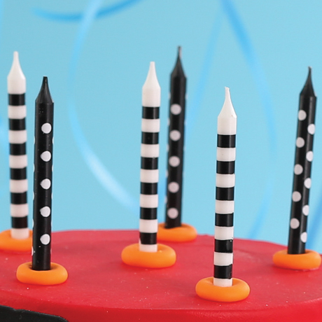 Stripes & Dots Candles